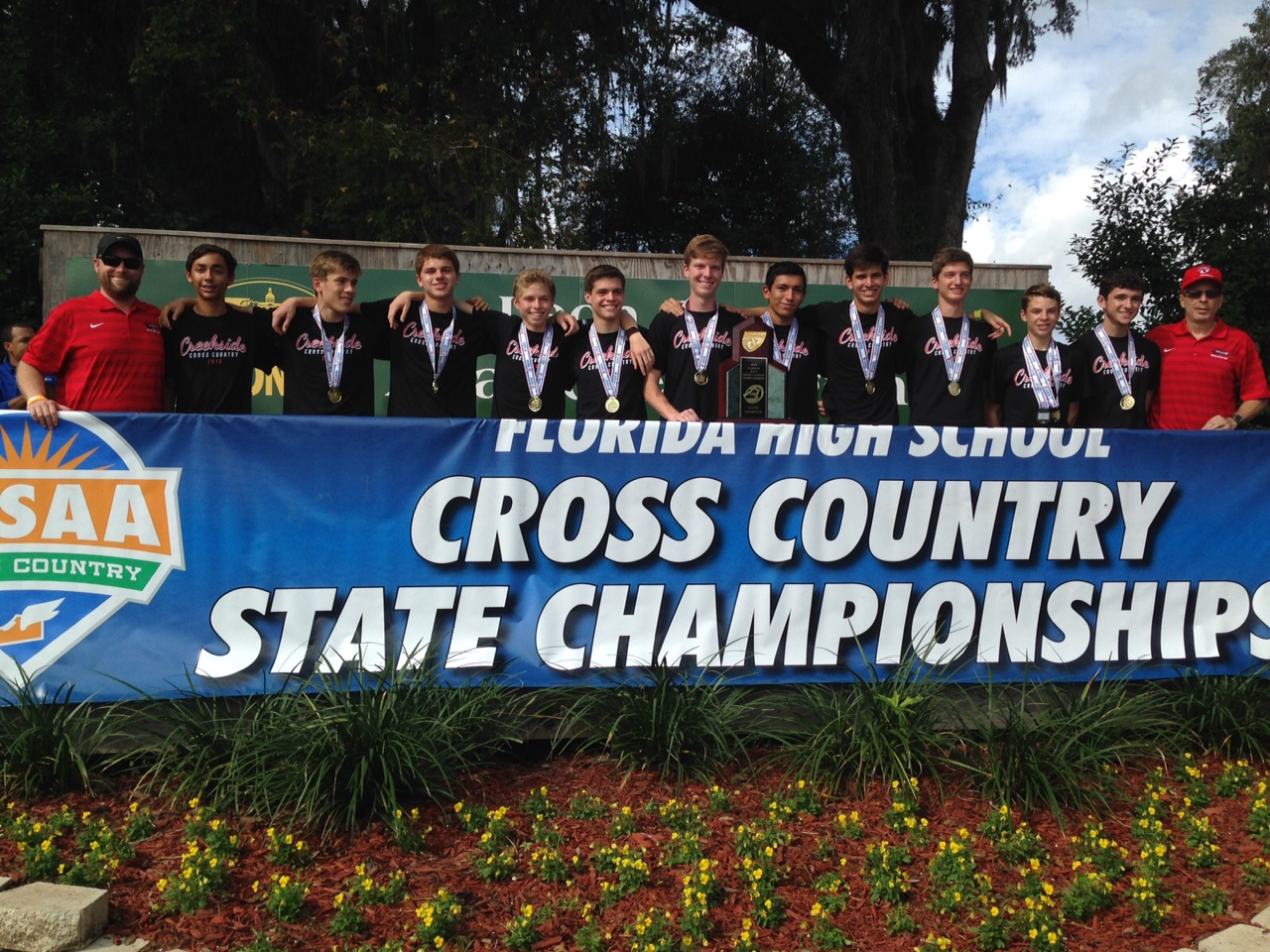 2015 Boys Cross Country State Champs