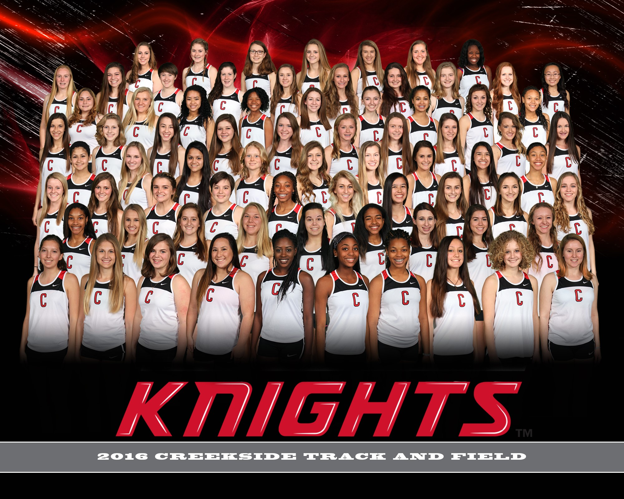 2016 Girls Track and Field