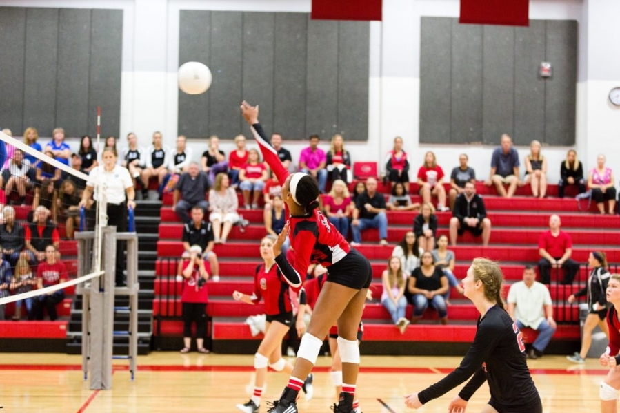 creekside volleyball tops nease