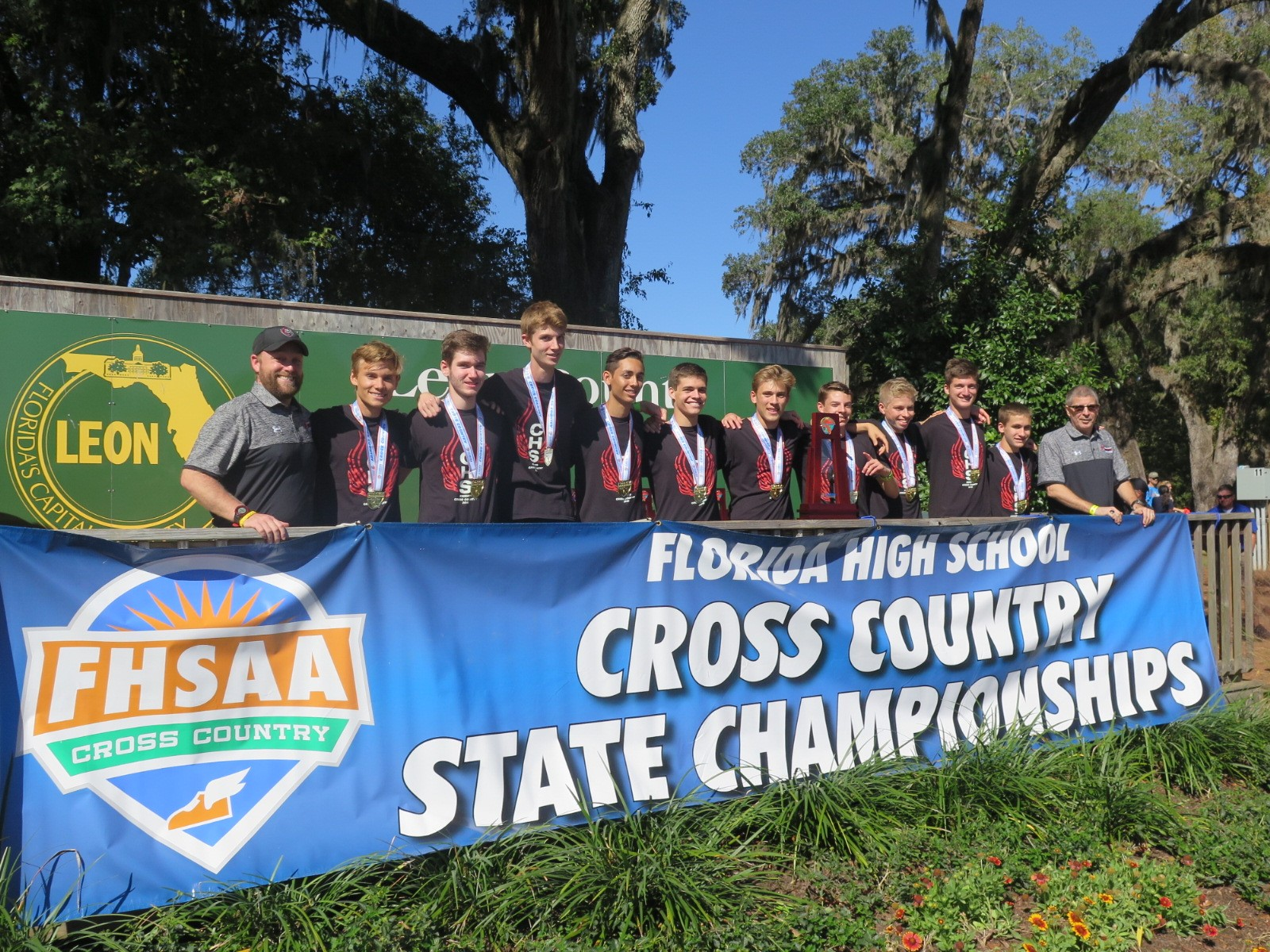 2016 Boys Cross Country State Champs