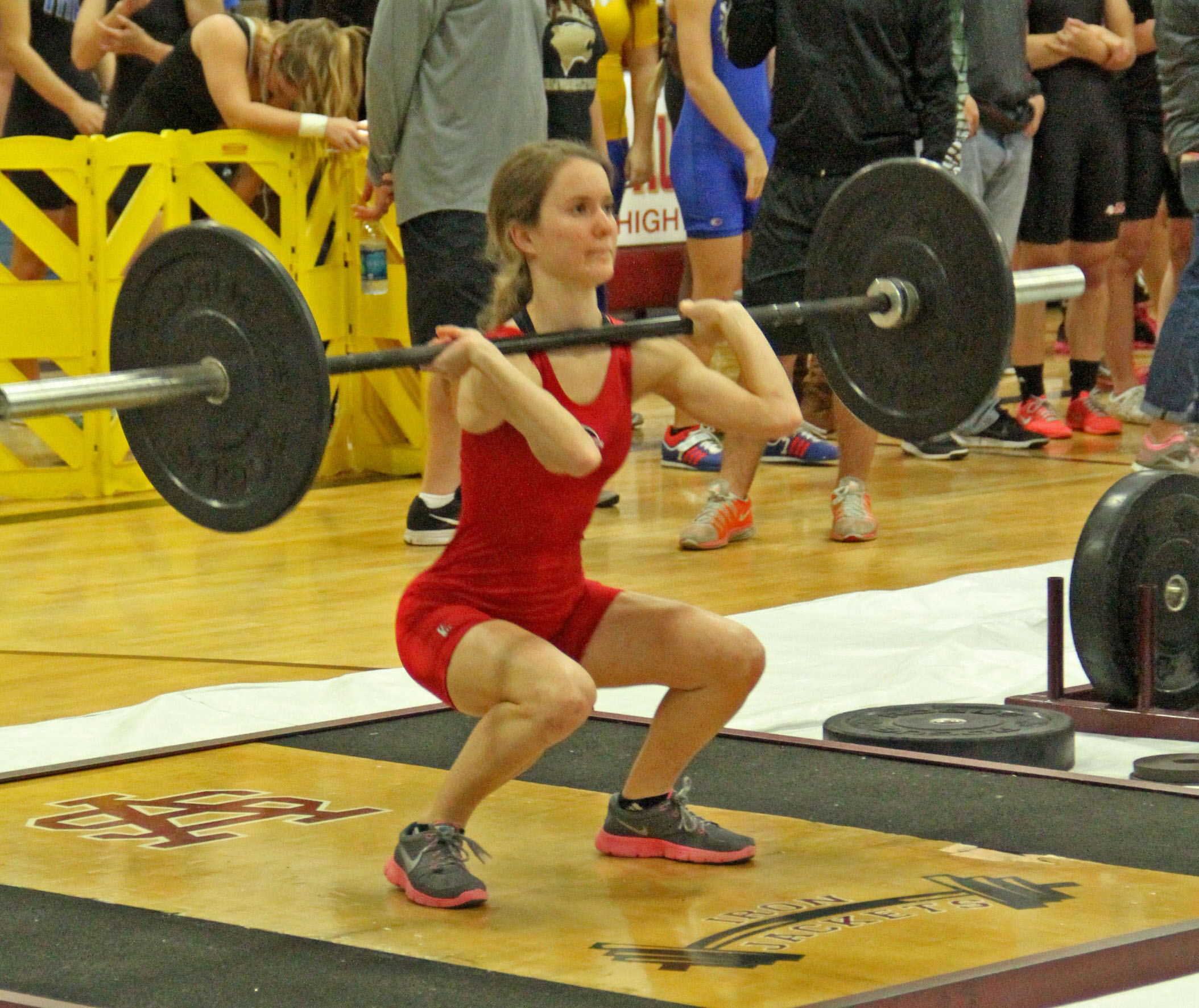 2015 16 Girls Weightlifting Creekside Athletics