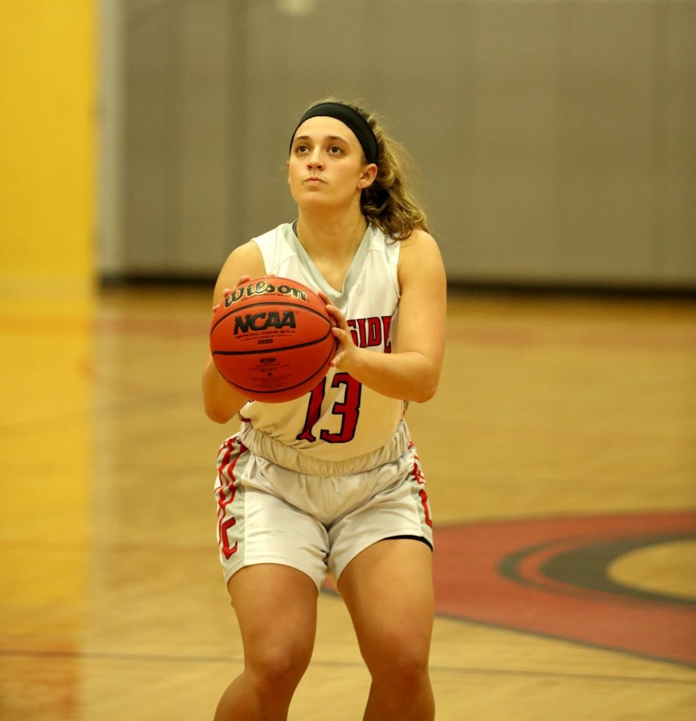 Maddie Lippy Most 3pt FG Made - 127 Previously held by Taylor Allen (123)