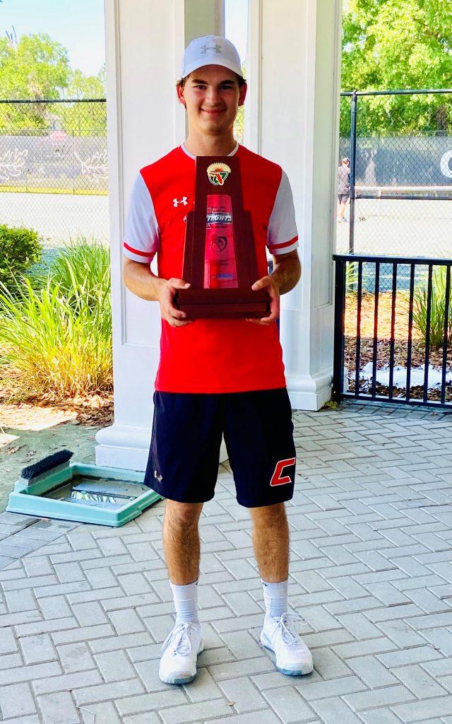 boys tennis district champ